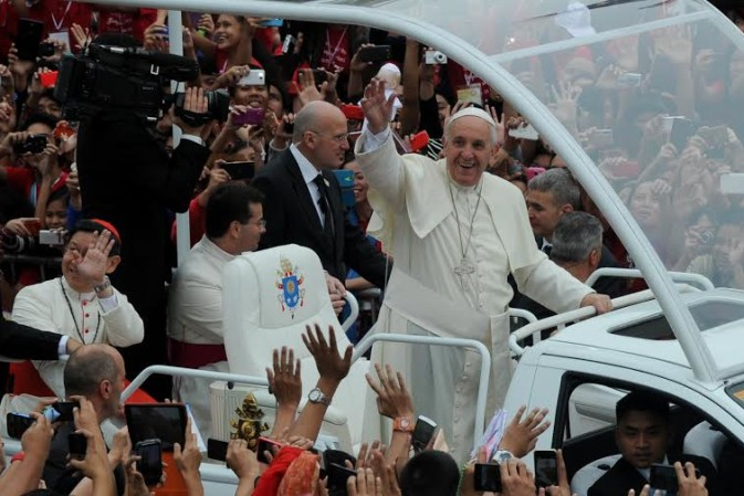Protestant leaders pray for Pope Francis