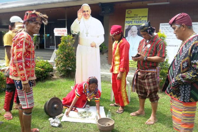 Post Papal Visit Ritual Held