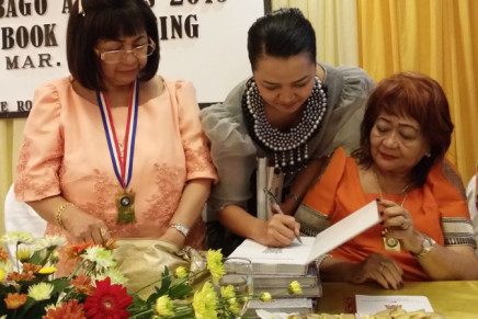 DCHerald volunteer takes part in Datu Bago Awardees book launching