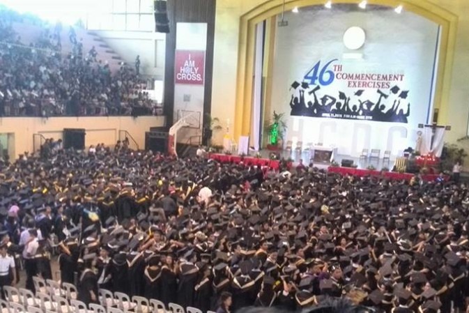 Abp. Valles to graduates:  'Go, Proclaim the Gospel, Serve Others'
