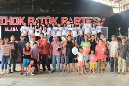 UP-Min CommArts students successfully held Lihok Batok Rabies 2015