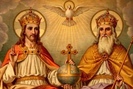 Trinity: Distinct yet related