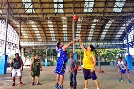 Davao priests join basketball tourney for charity in Cebu