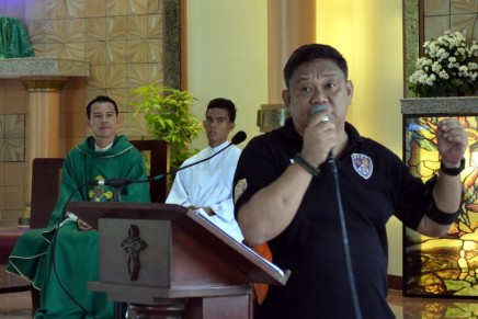 Parish Conducts PSAM Day Earthquake Drill