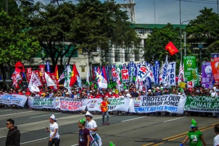 Faith groups, CSOs show force for Climate Justice
