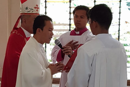 Fr. Angelia is new seminary rector