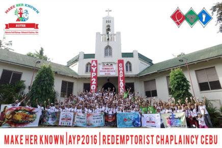 Alphonsian Youth Pilgrimage 2016