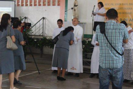 Thanksgiving Mass ni Fr. Hechanova