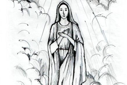 Santa Maria and the Filipino Faithful