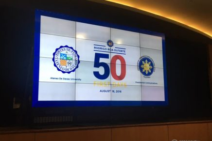 Talk over on Duterte's first 50 days held
