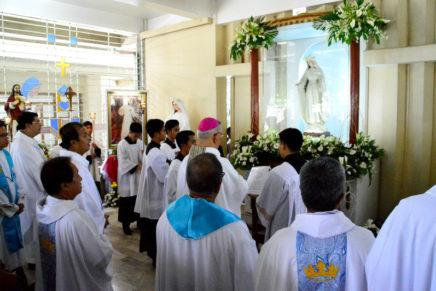 Mary Mediatrix Cathedral nagsaulog ug ika-65 nga kapistahan