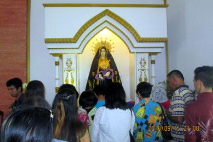 Pista sa Virgen Dolorosa gisaulog