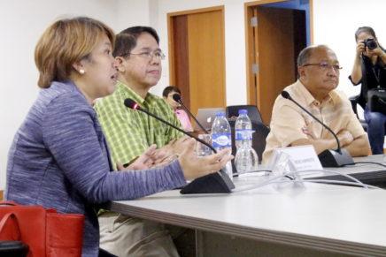 ADDU nagpahigayon ug press con una ang peace talk