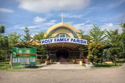 Kasaysayan sa Holy Family Parish