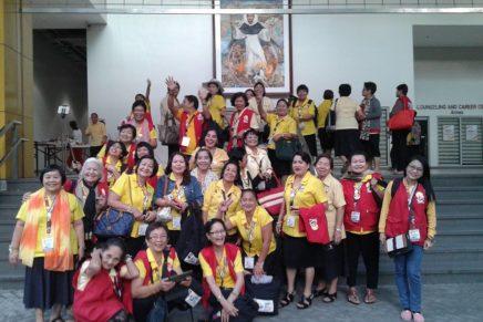 Davao Divine Mercy devotees join WACOM