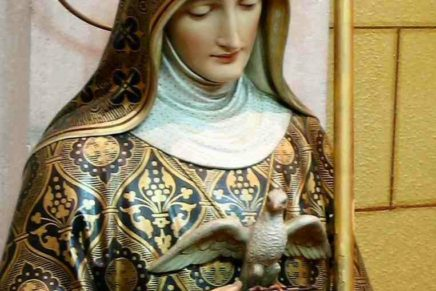 St. Scholastica, Virgin and Religious Founder (480-543)