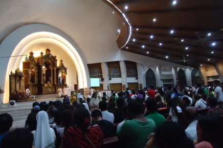 World Day for Consecrated Life celebration at San Pedro