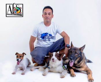Dog trainer Arvin