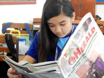 Atenean Reading DC Herald