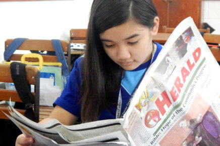DC Herald makes Ateneans more conscious  about Church's event