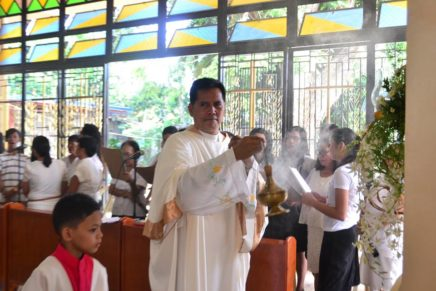 """""""Completely finished"""" – Fr. Perseus"""