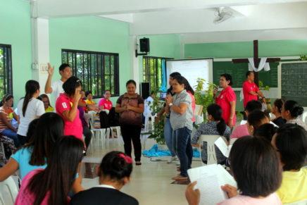 1st Archdiocesan Basic Bibliodrama Workshop gipahigayon