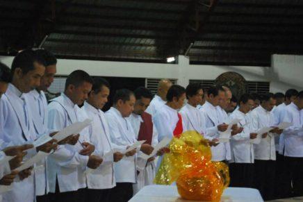 Mga PSL sa Tagakpan, Malipayong Midawat ug Nanumpa sa Tawag sa Pagserbisyo
