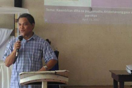 San Miguel Parish Panacan Seminar on the Year of the Parish