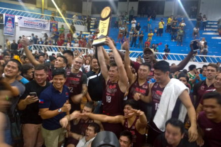 UP's Fighting Maroons are champs in basketball tourney