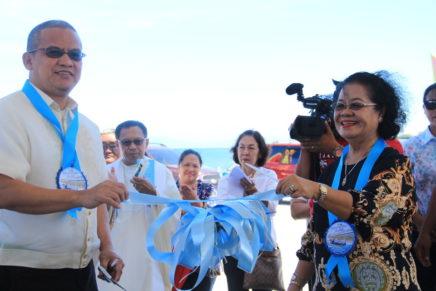 Lupon Gets New Fish Landing Hub