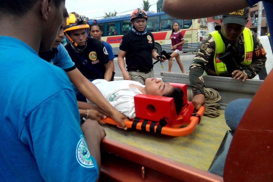 Duck, Cover, Hold: 1st quake, tsunami drill sa dakbayan malampuson