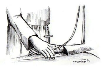 Caricature true healer editorial
