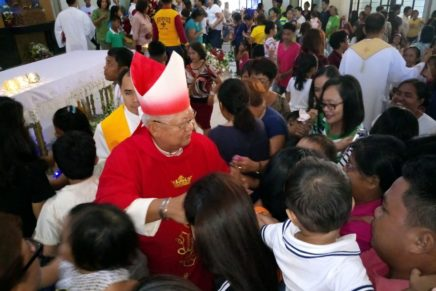 Nazareno parish is 2 years old, cooling system installed