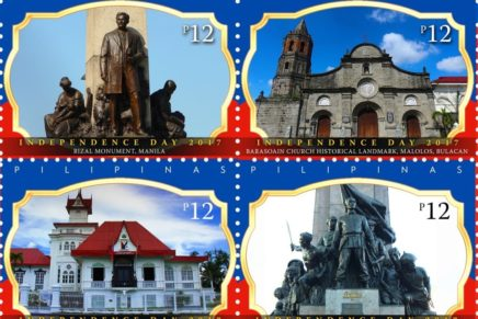 Independence Day historic landmarks featured in stamps