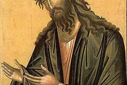 He paved the way: The Life of St. John the Baptist
