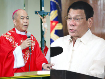 Abp. Valles and President Duterte