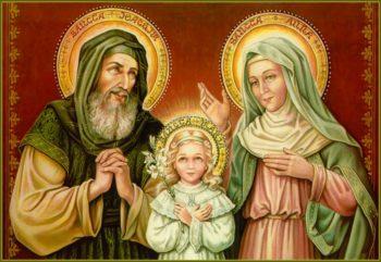 Saints Joaquim and Anne