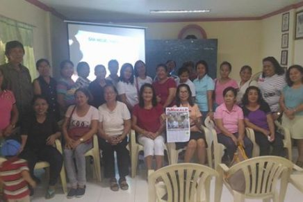 San Miguel Parish Panacan GKK SocCom Meeting