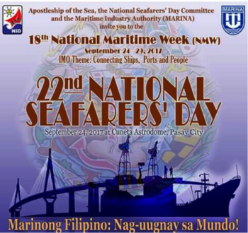 22nd National Seafarers day