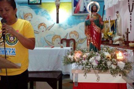 St. Jude mibisita sa iyang mga GKK