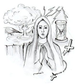 caricature Fatima
