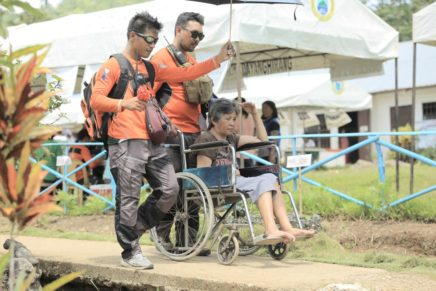 PWD beneficiary shares feedback to caravan assistance