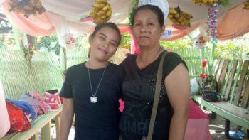 Wilmie Escultor (left) Marelou Sarabia (right)