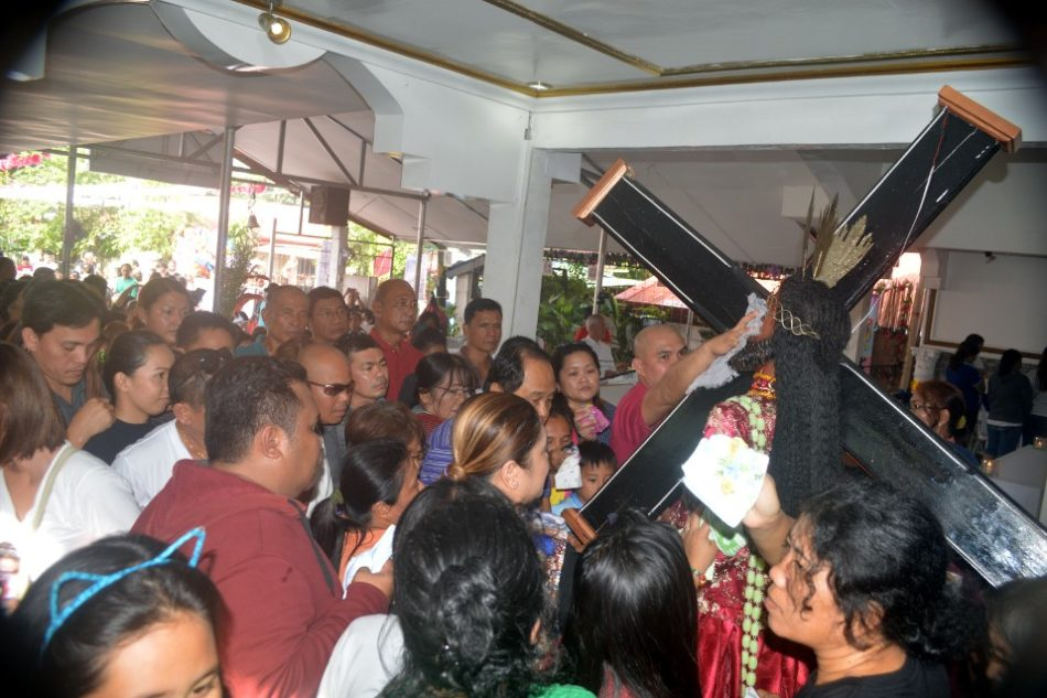 Davaoeños celebrate feast of the Black Nazarene