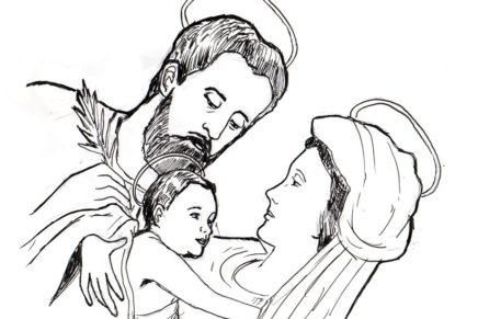Holy Family model of Families