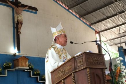 "Abp. Valles to Church Ministers: ""Work with the Love of Christ"""